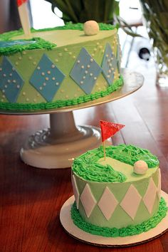 Golf Birthday Cakes   The Prickly Poppy Bakery   Flickr