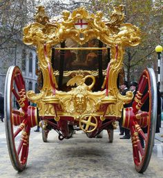 The State Coach of the right Honourable mayor of London was built in 1872. The Lord Mayor's Show is a time honoured ritual that dates back to before 1535. A new Lord Mayor is chosen every year. The reason for the parade and procession is that the Lord Mayor swears their allegiance to the Sovereign.
