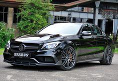 2015 Brabus 600 Mercedes-AMG C 63 S