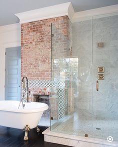 Addison's Wonderland #marblebathrooms