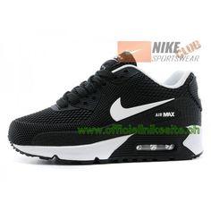 Nike Air Max 90 Ps Chaussures Nike Pas Cher Pour Enfant Noir Blanc-Boutique 40615717edf7