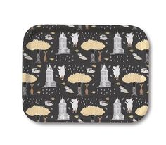 Black Tree Moomin Tray by Opto Design - The Official Moomin Shop Moomin Shop, Black Tree, Scandinavian, Tray, Birch, Design, Beauty, Products, Trays