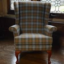 Oakham Tweed Chair the perfect fireside chair, just as home in a cosy cottage or a lodge this is the type of chair that fits just about anywhere. Country Cottage Living, Wingback Armchair, Cool Chairs, Arm Chairs, Lounge Suites, Lodge Style, Front Rooms, Victorian Decor, Cozy House