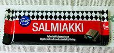 Karl Fazer, Salmiakki-Chocolate Bar - The Culinary Cellar