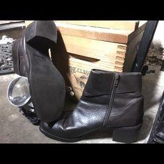 Boots Bellini Sport 'De De' Dark Brown Leather Fashion Ankle Boots Size 9 Bellini Shoes Ankle Boots & Booties