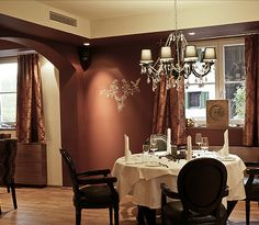 Restaurants - Hotel Seebrunn am Wallersee Restaurant, Modern, Curtains, Home Decor, Interior Designing, Trendy Tree, Blinds, Decoration Home, Room Decor
