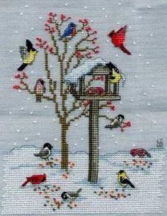Bilderesultat for free cross stitch patterns birds Cross Stitch Bird, Cross Stitch Animals, Cross Stitch Flowers, Cross Stitch Charts, Counted Cross Stitch Patterns, Cross Stitch Designs, Cross Stitching, Cross Stitch Embroidery, Embroidery Patterns