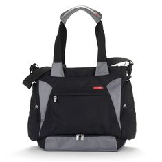 Buy Skip Hop Bento Tote Nappy Bag online and save! The Bento is designed to be a total solution for today's busy, multi-tasking families. Bento includes our insulated Mealtime Kit with Clix containers,. Black Diaper Bag, Black Tote Bag, Diaper Bags, Bento, Changing Bag, Baby Items, Meal, Amazon, Baby Travel