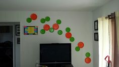 Paper Plate wall decorations