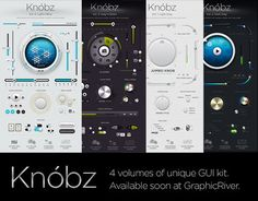 """Check out this @Behance project: """"Knóbz: all 4 volumes"""" https://www.behance.net/gallery/6384977/Knobz-all-4-volumes"""