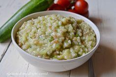 risotto con zucchine bimby,risotto,risotto bimby,le ricette di tina,zucchine bimby