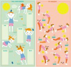 kinderyoga oefeningen 5 x samen in evenwicht | Moodkids