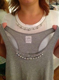 Tee-shirt ou petite robe sans manche