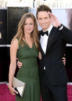 Eddie Redmayne Brings Girlfriend Hannah Bagshawe to the Oscars