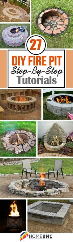 Build Fire Pit On Patio . Build Fire Pit On Patio . 25 Awesome Diy Backyard Fire Pit with Seating Ideas Backyard Projects, Outdoor Projects, Garden Projects, Diy Projects, Woodworking Projects, Project Ideas, Woodworking Plans, Diy Fire Pit, Fire Pit Backyard