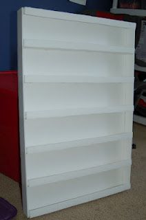 My Crafteteria - Foamboard narrow-shelf organizer