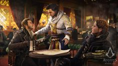 Assassin's Creed Syndicate - Jacob und Evie http://www.pokipsie.ch/spiele/digital/playstation-4/assassins-creed-syndicate/