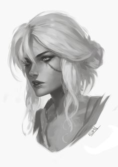 Ciri - Fan Art by Soufiane Idrassi ►get more @rohitanshu◄