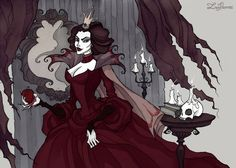 Updated on 01.05.15(better quality) The old version:The Evil Queen Watercolor, ink, photoshop Find me onfacebook