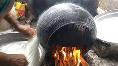 Pootharekulu Making , Preparing Atreyapuram Famous Pootharekulu or Putharekulu Sweet Making Video , Layers Paper Sweet , bellam Putharekulu , Sweet Crepes Recipe, World Street Food, Crepe Recipes, South Indian Food, Indian Food Recipes, Layers, Rice Flour, Desi, Cooking