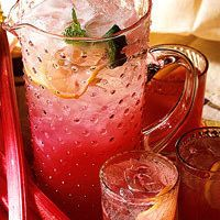 Pink Rhubarb Punch by Better Homes and Gardens