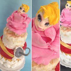 Tinkerbell Cake Neverland Cake Torta Trilly Torta Isola che non c'è  Merengue Cake