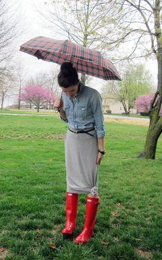 april showers.  like