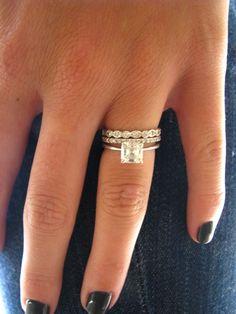 10 pt diamond ring floating thin - Google Search