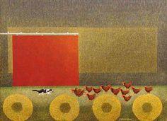 Claude DE GASPé ALLEYN - Red Barn Door
