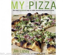 "Read ""My Pizza The Easy No-Knead Way to Make Spectacular Pizza at Home: A Cookbook"" by Jim Lahey available from Rakuten Kobo. Make homemade pizza that exceeds your wildest expectations—yet couldn't be simpler—with Jim Lahey's groundbreaking no-kn. Pizza Cool, Great Pizza, Perfect Pizza, No Knead Pizza Dough, No Knead Bread, Pizza Legal, Incredible Pizza, Jim Lahey, Pizzeria"