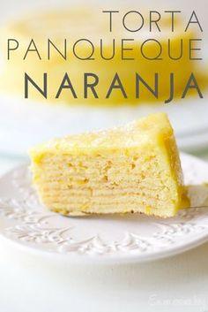 Torta Panqueque Naranja