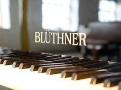 Bluthner Pianos. Established 1853 in Leipzig, Germany.