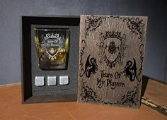 Tears of My Players. Dungeons and Dragons fan gift. Wedding Ring Box, Card Box Wedding, Whiskey Gift Set, Nightmare Before Christmas Wedding, Leather Coasters, Personalized Coasters, Glass Boxes, Wood Boxes, Wood Species