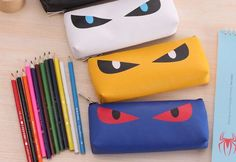 DIY Pencil Case - Prepare yourself for a very cute as well as extremely simple embroidery job brought to you from Charlene over at Thinking Outside the Pot.