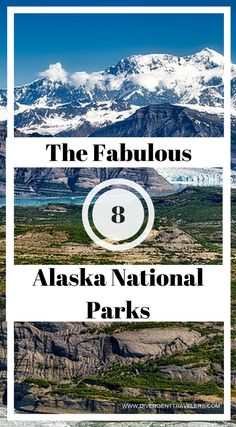 The Fabulous 8 - Alaska National Parks. Plan anAlaskavacation to Denali, Gates of the Arctic, Glacier Bay, Katmai, Kenai Fjords, Lake Clark or Wrangell St-EliasNational ParkwithAlaskaTours. No tour ofAlaskais complete without visiting at least one of its eight stunningnational parks. With such a wide variety to choose from, it can be difficult choosing which ones are right for you and your family. Click to read more. #Alaska #Travel #NationalParks #AdventureTravel