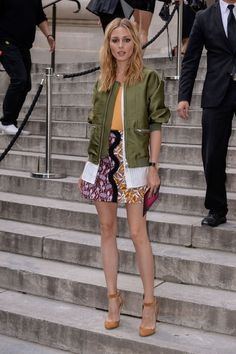 Olivia Palermo at Giambattista Valli Fashion Haute-Couture F/W 2016/2017 in Paris July 5, 2016