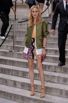 Olivia Palermo at Giambattista Valli Fashion Haute-Couture F/W 2016/2017 in Paris July 5, 2016