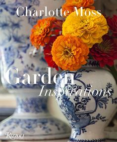 "Charlotte Moss: Garden Inspirations (Rizzoli, $50) takes as its case study the designer's East Hampton, New York, home, Boxwood Terrace, a spec house that she converted into what she calls her ""personal Arcadia."" The home's decor—baskets, vases, china, linens—reflects the flora and foliage outside."