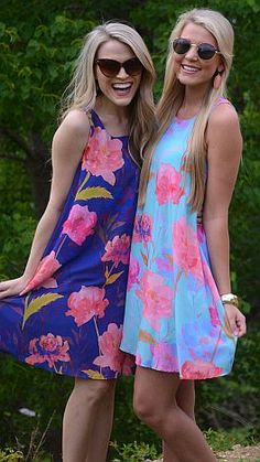 ShopBlueDoor.com: Gorgeous floral dresses with a basic fit. $59