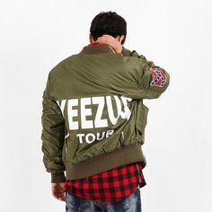 YEEZUS TOUR MA-1 항공점퍼 (2 Color) : 쪼차라