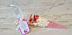 Pink Baby Shower Sweet Cone-Personalised Baby Girl Gift-Baby Foot Print ribbon-Bottle Glitter Tag-New Baby-Christening Gifts-Gender Reveal Toddler Gifts, Gifts For Kids, Baby Foot, Sweet Cones, Baby Christmas Gifts, Personalised Baby, Gift Cake, Chocolate Bouquet, Fabric Gifts