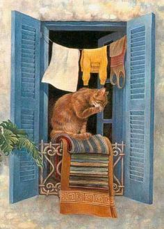 Amazing animal pictures on Webshots Art Et Illustration, Illustrations, I Love Cats, Cool Cats, Image Foto, Amazing Animal Pictures, Gato Animal, Frida Art, Gatos Cats