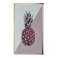 Pineapple sisustustaulu Pineapple, Fruit, Stone, Projects, Decoration, Log Projects, Decor, Rock, Blue Prints