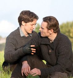 James McAvoy and Michael Fassbender love. A series of gifs detailing their relationship.
