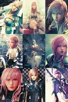 Lightning Farron - Final Fantasy XIII Series