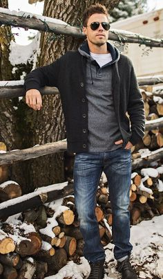 OMG Stitch Fix for MEN! Ladies get this for the men in your life! Stylish Men's Outfits sent to you! Stitch fix is the best clothing box ever! Winter Fashion Casual, Fall Fashion Outfits, Casual Winter Outfits, Men Casual, Men's Outfits, Fashion Edgy, Fashion Ideas, Fashion Styles, Casual Wear