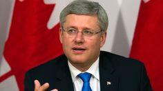 Prime Minister Stephen Harper of Canada.