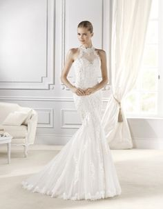 Bride at Home (Bristol, Downend) -Affordable bridal wear from all over the world Wedding Dress Necklines, Lace Wedding Dress, 2015 Wedding Dresses, Designer Wedding Dresses, Bridal Dresses, Wedding Gowns, Bridesmaid Dresses, Affordable Bridal, Inexpensive Wedding Dresses