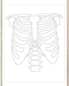 DIY skeleton stencil!   More inexpensive crafts and DIY's for you frugalistas to make from our blog! http://revampthevintage.blogspot.com/2012/10/diy-halloween-skeleton-costume.html?m=1