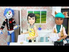 How to Make a Doll Pizza - Doll Crafts - YouTube